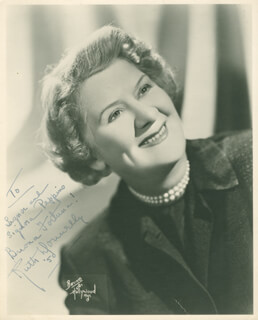 RUTH DONNELLY - AUTOGRAPHED INSCRIBED PHOTOGRAPH 1950