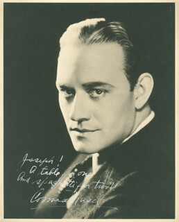 CONRAD NAGEL - AUTOGRAPHED INSCRIBED PHOTOGRAPH
