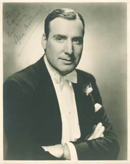 ALAN MOWBRAY - AUTOGRAPHED INSCRIBED PHOTOGRAPH