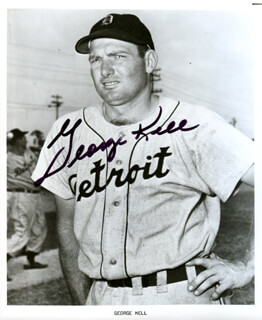 GEORGE KELL - AUTOGRAPHED SIGNED PHOTOGRAPH
