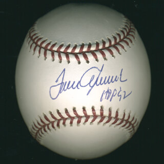 TOM TOM TERRIFIC SEAVER - AUTOGRAPHED SIGNED BASEBALL
