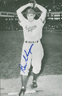 BEN CHAPMAN - PICTURE POST CARD SIGNED