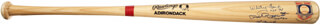 THE NEW YORK YANKEES - BASEBALL BAT SIGNED CO-SIGNED BY: YOGI BERRA, WHITEY FORD, PHIL RIZZUTO