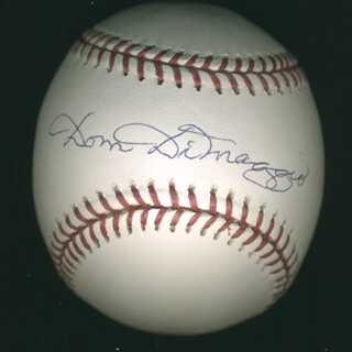 DOM DIMAGGIO - AUTOGRAPHED SIGNED BASEBALL