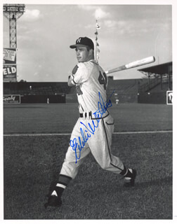 EDDIE MATHEWS - AUTOGRAPHED SIGNED PHOTOGRAPH