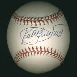 KIRBY PUCKETT - AUTOGRAPHED SIGNED BASEBALL