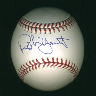 ROBIN YOUNT - AUTOGRAPHED SIGNED BASEBALL