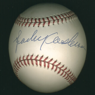 SPARKY ANDERSON - AUTOGRAPHED SIGNED BASEBALL