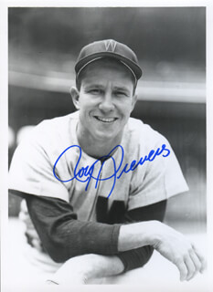 ROY SIEVERS - AUTOGRAPHED SIGNED PHOTOGRAPH