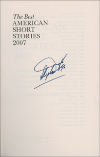 STEPHEN KING - BOOK SIGNED