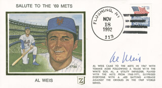AL WEIS - FIRST DAY COVER SIGNED