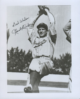 CLAUDE CROCKER - AUTOGRAPHED SIGNED PHOTOGRAPH