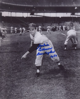 JACKIE COLLUM - AUTOGRAPHED SIGNED PHOTOGRAPH