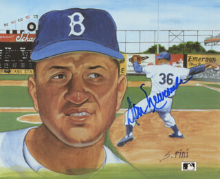 DON NEWK NEWCOMBE - PRINTED ART SIGNED