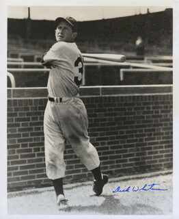 DICK WHITMAN - AUTOGRAPHED SIGNED PHOTOGRAPH