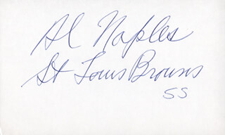 Autographs: AL NAPLES - SIGNATURE(S)