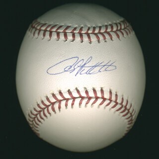 ANDY PETTITTE - AUTOGRAPHED SIGNED BASEBALL