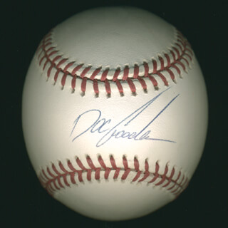 DWIGHT DOC GOODEN - AUTOGRAPHED SIGNED BASEBALL  - HFSID 283399