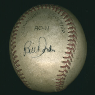CINCINNATI REDS - AUTOGRAPHED SIGNED BASEBALL CO-SIGNED BY: TOM BROWNING, BILL DORAN