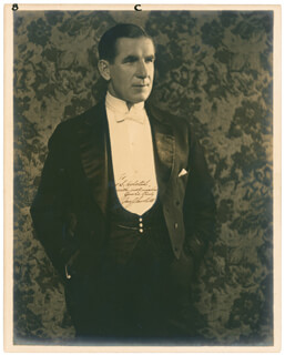 JAMES J. GENTLEMAN JIM CORBETT - AUTOGRAPHED INSCRIBED PHOTOGRAPH