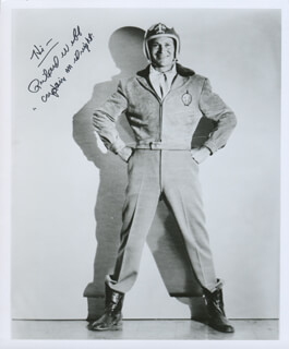 RICHARD WEBB - AUTOGRAPHED SIGNED PHOTOGRAPH