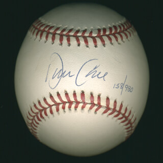 DAVE CONE - AUTOGRAPHED SIGNED BASEBALL