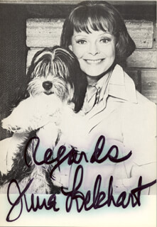 JUNE LOCKHART - AUTOGRAPHED SIGNED PHOTOGRAPH  - HFSID 2835