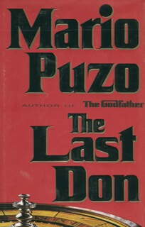 MARIO PUZO - INSCRIBED BOOK SIGNED