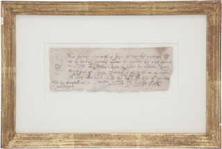 JOHN ENDECOTT - DOCUMENT SIGNED