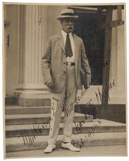 CHIEF JUSTICE CHARLES E HUGHES - AUTOGRAPHED INSCRIBED PHOTOGRAPH 02/24/1925