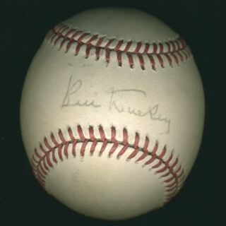 BILL DICKEY - AUTOGRAPHED SIGNED BASEBALL