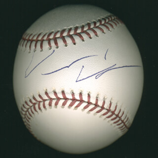 VINCE VAUGHN - AUTOGRAPHED SIGNED BASEBALL