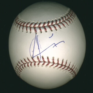 ANDY GARCIA - AUTOGRAPHED SIGNED BASEBALL