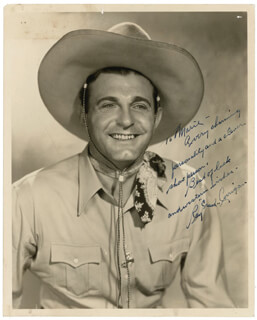 RAY CRASH CORRIGAN - AUTOGRAPHED INSCRIBED PHOTOGRAPH
