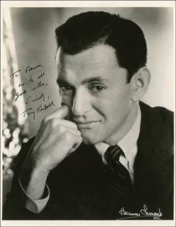 TONY RANDALL - AUTOGRAPHED INSCRIBED PHOTOGRAPH