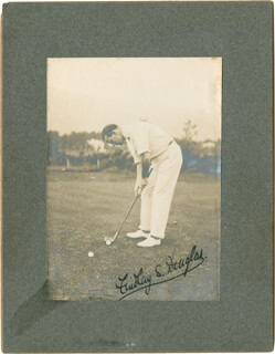 FINDLAY S. DOUGLAS - AUTOGRAPHED SIGNED PHOTOGRAPH
