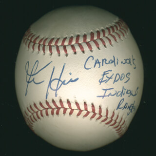 KEN HILL - AUTOGRAPHED SIGNED BASEBALL