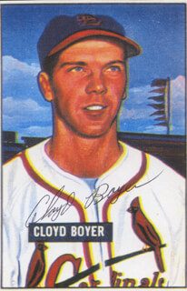 JUNIOR (CLOYD V.) BOYER - ILLUSTRATION SIGNED