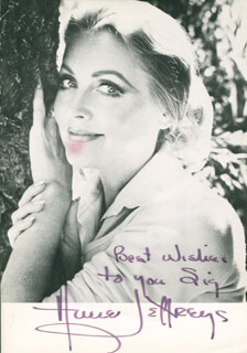 ANNE JEFFREYS - AUTOGRAPHED INSCRIBED PHOTOGRAPH CIRCA 1984