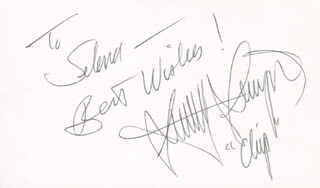 STANLEY LIVINGSTON - AUTOGRAPH NOTE SIGNED