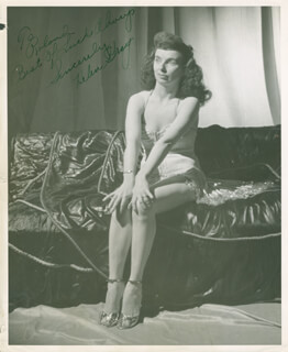 HELEN GRAY - AUTOGRAPHED INSCRIBED PHOTOGRAPH