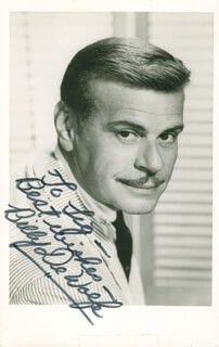 BILLY DE WOLFE - AUTOGRAPHED INSCRIBED PHOTOGRAPH