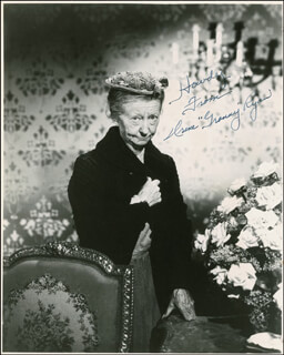 IRENE RYAN - AUTOGRAPHED SIGNED PHOTOGRAPH