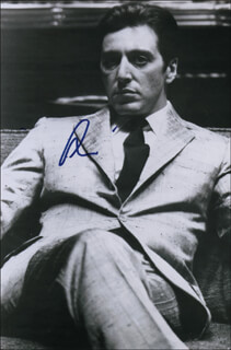 AL PACINO - AUTOGRAPHED SIGNED PHOTOGRAPH