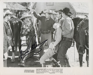 REX ALLEN - PRINTED PHOTOGRAPH SIGNED IN INK