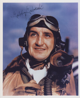 COLONEL FRANCIS S. GABBY GABRESKI - AUTOGRAPHED SIGNED PHOTOGRAPH