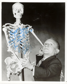 BILLY BARTY - AUTOGRAPHED INSCRIBED PHOTOGRAPH