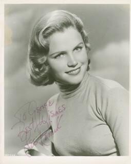 LEE REMICK - AUTOGRAPHED INSCRIBED PHOTOGRAPH