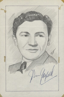 JOHN RAITT - ORIGINAL ART SIGNED CO-SIGNED BY: JOHN GARFIELD