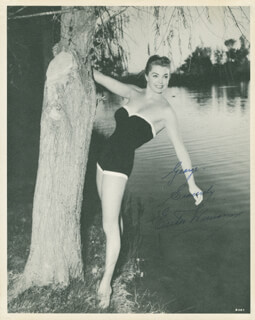 ESTHER WILLIAMS - AUTOGRAPHED INSCRIBED PHOTOGRAPH